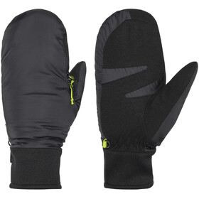 Meru Nuuk Padded Mittens with Zipper Black